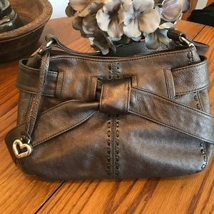 Brighton Pewter-Gray Leather Purse